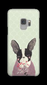 Fransk bulldog deksel Galaxy S9