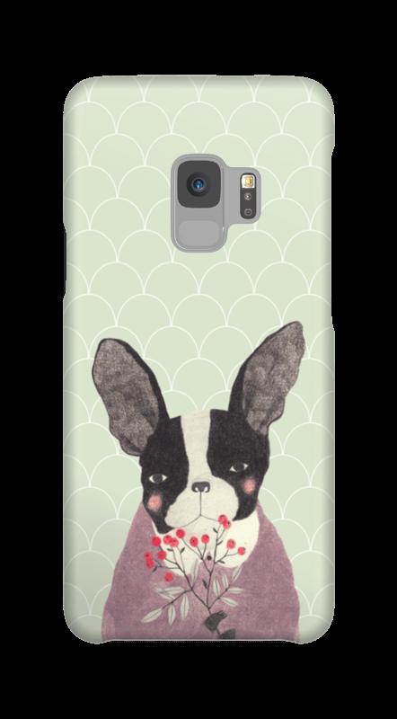 Fransk bulldog skal Galaxy S9