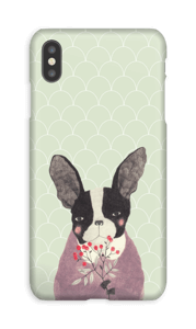 Fransk bulldog deksel IPhone XS Max