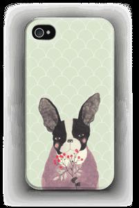 Ranskanbulldoggi kuoret IPhone 4/4s