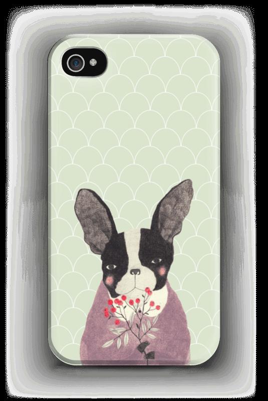 Fransk bulldog skal IPhone 4/4s