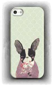 Flower dog case IPhone 5/5S