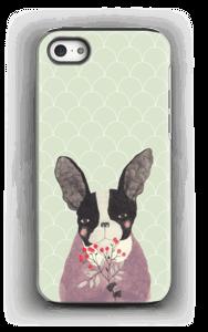Französische Bulldogge Handyhülle IPhone 5/5s tough
