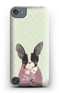Flower dog case IPod Touch 5