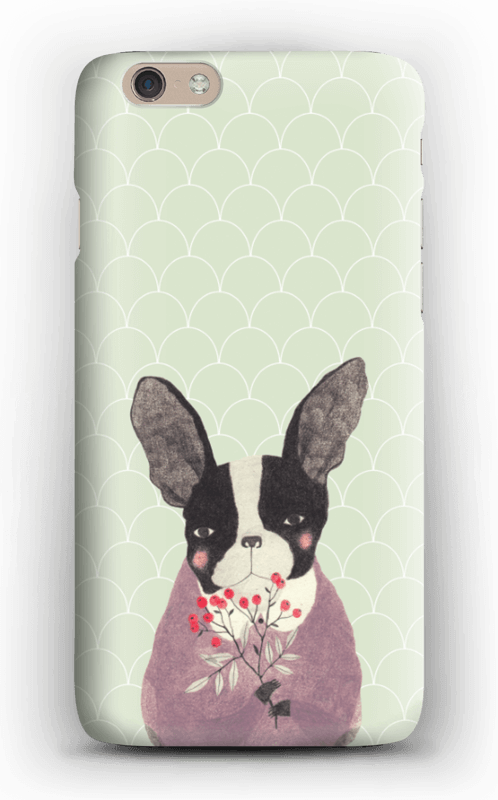 Flower dog case IPhone 6