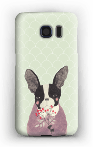 French bulldog case Galaxy S6