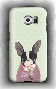 Ranskanbulldoggi kuoret Galaxy S6 Edge