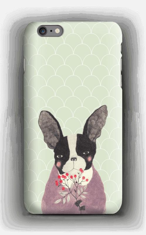 Fransk bulldog skal IPhone 6s Plus
