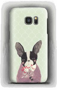 Flower dog case Galaxy S7
