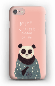 Pink panda case IPhone 7