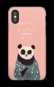 Panda kuoret IPhone X tough