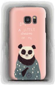 Pink panda case Galaxy S7