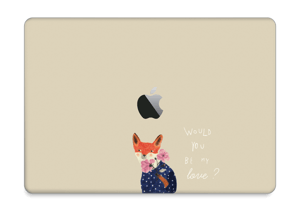 "Fox love Skin MacBook Pro 13"" 2016-"