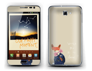 Fox love Skin Galaxy Note