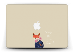 "Un renard Skin MacBook Air 13"""