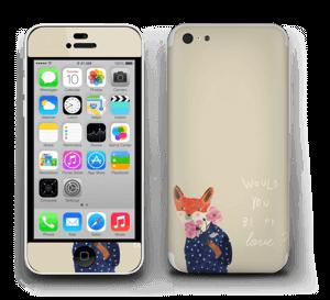 Un renard Skin IPhone 5c