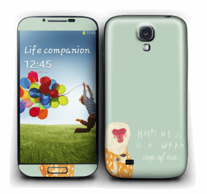 En apa Skin Galaxy S4