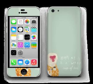 Un singe Skin IPhone 5c