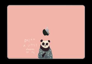 En panda Skin MacBook Pro Touch Bar 15