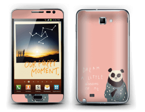 Dreamy panda  Skin Galaxy Note