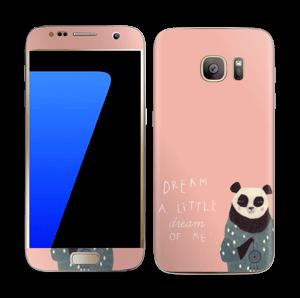 Un panda Skin Galaxy S7