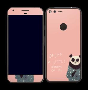 Un panda Skin Pixel XL