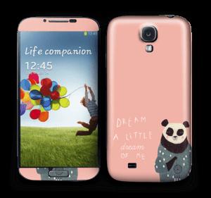 En panda Skin Galaxy S4