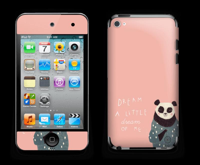 1d4bb2f13e7 Dreamy panda skin IPod Touch 4th Gen