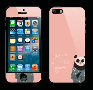 Dreamy panda  Skin IPhone 5s