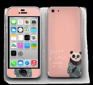 Un panda Skin IPhone 5c