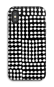 Strass cover IPhone X tough