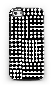 Black & White case IPhone 5/5s tough