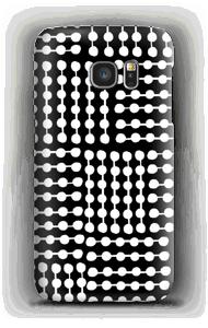 ラインストーン ケース Galaxy S7