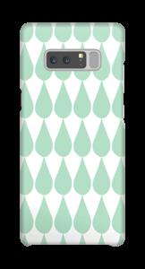 Regentropfen Handyhülle Galaxy Note8