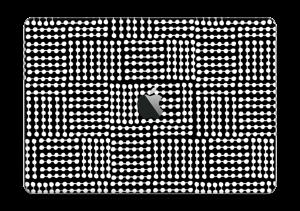 "White & Black  Skin MacBook Pro 13"" 2016-"