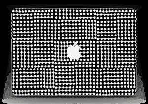 "White & Black  Skin MacBook Air 13"""