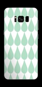 Regentropfen Skin Galaxy S8