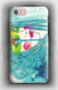 Kvinne i blått deksel IPhone 7