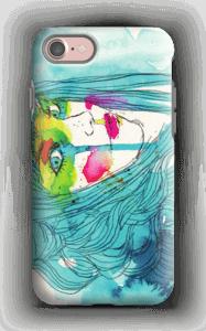 Kvinne i blått deksel IPhone 7 tough