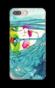 Femme bleue Coque  IPhone 8 Plus
