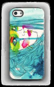 Kvinne i blått deksel IPhone 5/5s tough