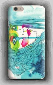 Kvinne i blått deksel IPhone 6