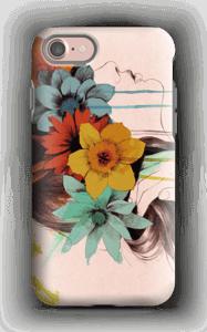 Blomsterkrans skal IPhone 7 tough