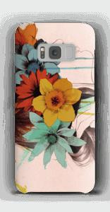 Blomsterkrans skal Galaxy S8