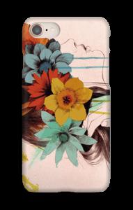 Blomsterkrans skal IPhone 8
