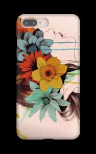 Femme en fleur Coque  IPhone 8 Plus