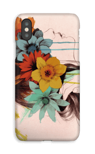 Kranse af blomster cover IPhone XS