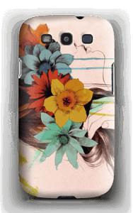 Blomsterkrans skal Galaxy S3