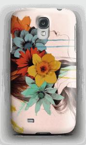 Blomsterkrans deksel Galaxy S4