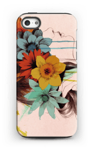 Blomsterkrans deksel IPhone 5/5s tough